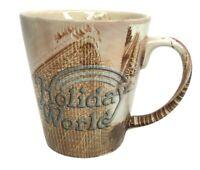 Vintage Holiday World Roller Coaster Pictures Coffee Tea Mug Amusement Park Gift