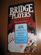 The Bridge Players Video Library with Audrey Grant  Vol 2  VHS - Better Bidding