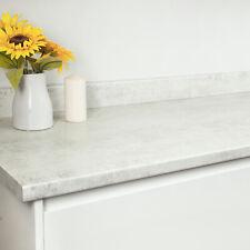 Woodstone Blanc Stone Effect Laminate Kitchen Worktops, Worktop Edging Included