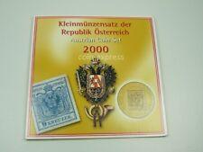 *** Schilling KMS ÖSTERREICH 2000 HGH Austria Coin Set Kursmünzensatz vor Euro *