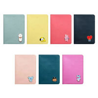 Official BT21 Mascot Mini Journey Passport Case 7 Characters by Line Friends