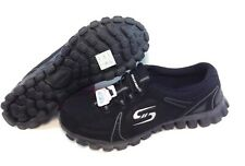 Womens Skechers 22698 BLK EZ Flex Right On Black Grey Sneakers Shoes