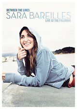 Between the Lines: Sara Bareilles Live at the Fillmore by Sara Bareilles (CD, Oct-2008, Epic)