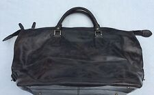 NEW**Argentinian Calf Leather***HALO**Gray X-Large Luggage Duffle Bag***$1495