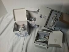 Reduced Lladro Christmas ornaments vtg. in boxes lot