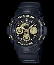 AW-591GBX-1A9 G-Shock Watches Resin Band Analog Digital