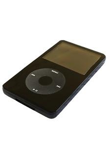 Apple iPod Video / Classic Full Black 5.5 Gen 128GB Flash Mod + 2000mAh Battery