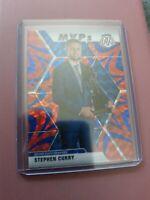 Stephen Curry Mosaic MVP Reactive Holo Blue Prizm Panini 2020 #299 WARRIORS