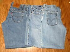 LOT OF 3 Vintage LEVI'S 577  Sz 10 Jeans for Women LOOK!!!!!