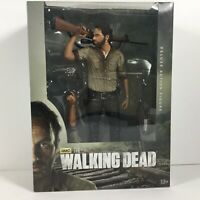 "TWD AMC The Walking Dead Deluxe Action Figure Rick Grimes 10"" McFarlane Toys"