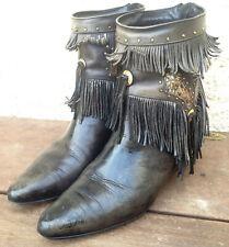 24405b963f BOTAS Cowboy de INDIAN Botas Vaqueras Camperas Vaquero de Piel