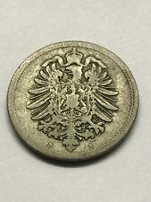1876-B German Empire 10 Pfennig VG #7041