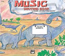 Alfred's Basic Music Writing Books. 32pg, Manuscript Paper - 6700
