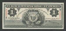 GUATEMALA - 1 peso  1917  Krause.s153a  Uncirculated-  ( World Paper Money )
