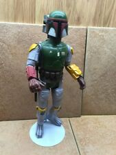 Vintage Star Wars large Boba Fett 1978 Kenner  with stand