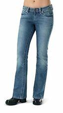 Harley Davidson Women's Low Rise Faded Blue Boot Cut Jean 99109-13VW US12 / UK14