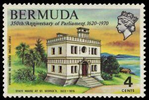 "BERMUDA 272 (SG266) - Parliament ""St. George State House"" (pa87359)"