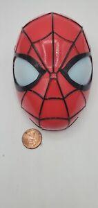3DLightFX Marvel Spiderman Mask 3D Deco Light Red 2019.works HALLOWEEN👍 BELT v2