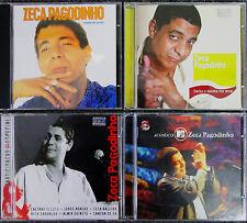 Lot of 4 Brazil Music CD's by Zeca Pagodinho