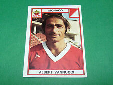 VANNUCCI AS MONACO ASM LOUIS II RECUPERATION PANINI FOOTBALL 76 1975-1976