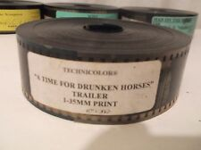 A TIME FOR DRUNKEN HORSES (2000) 35MM Movie Trailer Film Iranian Bahman Ghobadi