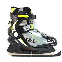 M&L Sport A 9.2 Eislaufschlittschuhe Schlittschuhe Semisoft Unisex Gr 39