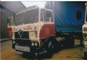 COL PHOTO: ROBSONS OF CARLISLE FODEN ARTIC CURTAINSIDER TRAILER - CHH 195T