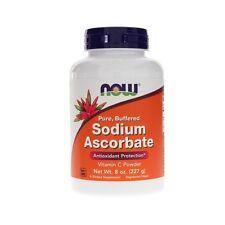 Sodio Ascorbate polvo,227ml (227g ),Now Foods,energía,ANTIOXIDANTE,Vitamina C