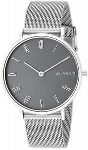 Skagen Women's 34mm Hald Slim Steel-Mesh Watch SKW2677 NEW! USA SELLER!