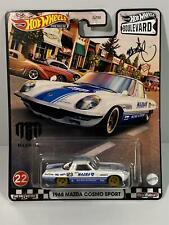 Hot Wheels 1968 MAZDA Cosmo Sport Diecast Mad Mike Boulevard 2021 Wave 5 No.22