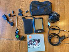 Vintage Palm Tx Handheld Pda Organizer w/ Stylus, Case, Cords, Cd T X - Works