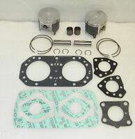 WSM KAWASAKI 750 Early Platinum Piston Top End Rebuild Kit PWC 010-820-10P