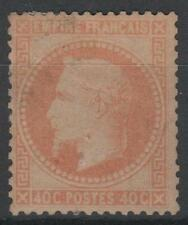 "FRANCE STAMP TIMBRE N° 31 "" NAPOLEON III  40c  ORANGE 1868 ""  NEUF x TB  N459"
