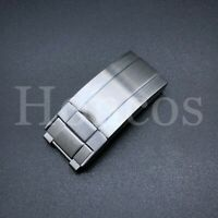 HIGH QUALITY STAINLESS STEEL SAFETY BUCKLE CLASP FOR ROLEX GMT SUBMARINER