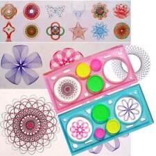 1Pcs Spirograph Geometric Ruler Stencil Spiral Art Classic Toy Stationery New