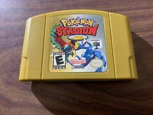 Pokemon Stadium 2 (Nintendo 64, N64) -- Authentic Game Cart --