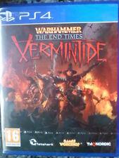 Warhammer The End Times Vermintide Nuevo PS4 Rol táctico estrategia PAL España¨