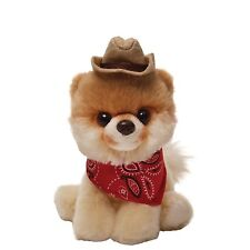 Gund 4040350 The Worlds Cutest Dog Itty Bitty Boo with Cowboy Hat