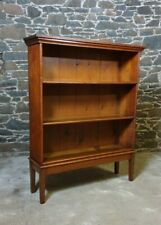 More details for bookcase book shelves hand carved victorian 1890 pine rustic made in scotland