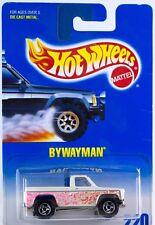Hot Wheels Die-cast #220 Bywayman 1/64 Pickup Truck 1997 ORSB Wheels New On Card