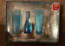 Davidoff Cool Water for Women - 3 Pc (Missing Eau Toillete Spray 15ml)