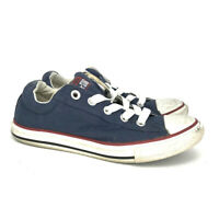 Converse Chuck Taylor All Star Low Tops Blue Unisex Shoes Size 3 Slip On