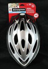 NEW Schwinn Silver Adult Lighted Thrasher Helmet - 14+
