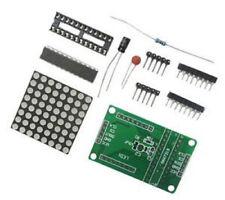 5pcs Max7219 Dot Matrix Module Mcu Control Led Display Diy Kit For Arduino