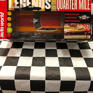 L.A. Hooker 1971 Ford Mustang NHRA Funny Car 1:18 scale Auto World
