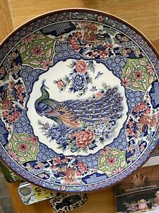 LARGE ANTIQUE 19TH CENTURY JAPANESE  IMARI CHARGER PLATE