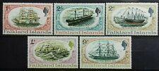 FALKLAND ISLANDS 1970 GREAT BRITAIN / SHIPS SG 258 - 262 MNH OG