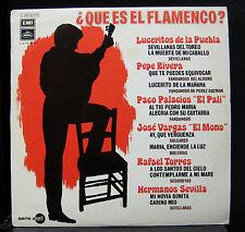 Various - Que Es El Flamenco? LP Mint- J 048-20.676 Spain 1971 Vinyl Record