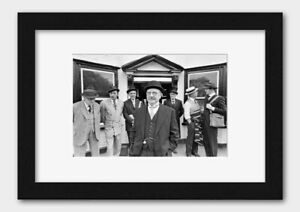 Dad's Army - Cast Filming at Chalfont St. Giles England 1970 Print 2