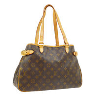 LOUIS VUITTON BATIGNOLLES HORIZONTAL SHOULDER BAG DU1026 PURSE MONOGRAM 02614